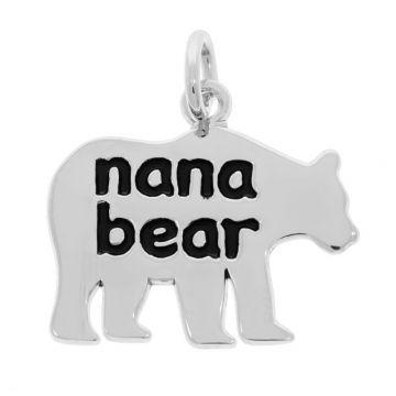 Rembrandt Nana Bear Sterling Silver Pendant
