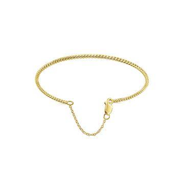 Gabriel & Co. 14k Yellow Gold Twisted Fashion Bangle
