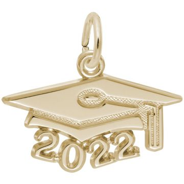 Rembrandt 14K Yellow Gold Grad Cap 2022 Large