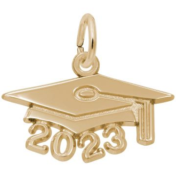 Rembrandt 14K Yellow Gold Grad Cap 2023 Large