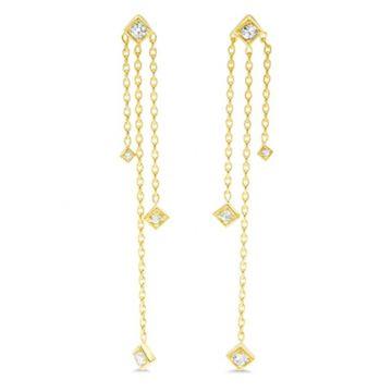 LexiMazz Designs 14k Gold Lex Diamond Dangle