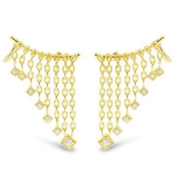 LexiMazz Designs 14k Gold Holy Chic Earclimbers *AWARD WINNING*