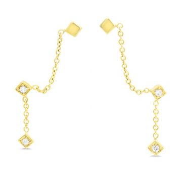 LexiMazz Designs 14k Gold Lex Dangle Cuff Earrings