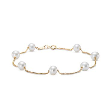 Mastoloni Tin Cup Pearl Bracelet