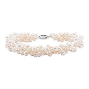 Mastoloni Cluster Pearl Bracelet
