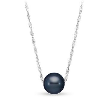Mastoloni Floating Tahitian Pearl Pendant Necklace