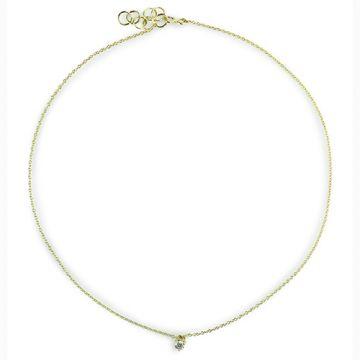 ILA 14k Yellow Gold Camille Diamond Necklace