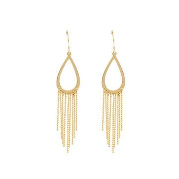 Midas 14k Yellow Gold Gypsy Drape Earrings