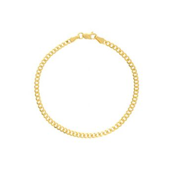 Midas 14k Yellow Gold 2.7mm Open Curb Bracelet