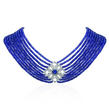 Gumuchian One of a Kind Diamond Tanzanite Necklace