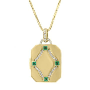 My Story 14k Yellow Gold The Megan My Story 14k Yellow Gold (Emerald) Locket