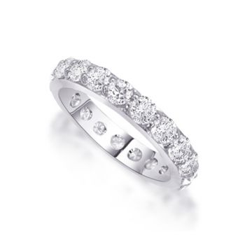 Epoque 14k White Gold Diamond Eternity Band