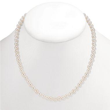 "Mastoloni 6mm 18"" Freshwater Pearl Strand Necklace"