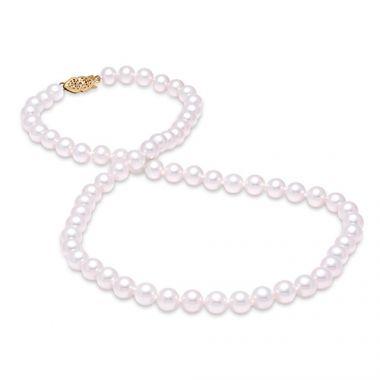 "Mastoloni 6.5-7mm 18"" Freshwater Pearl Strand Necklace"