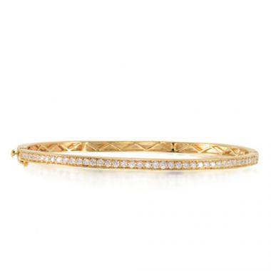 Epoque 14k Yellow Gold  Bangle
