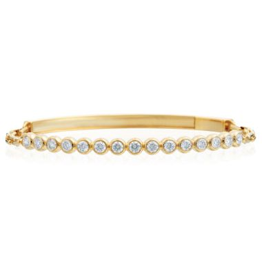 Gumuchian Moonlight 18k Yellow Gold Stiletto Diamond Bracelet