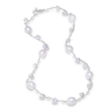 Mastoloni Keshi Freshwater Pearl Necklace