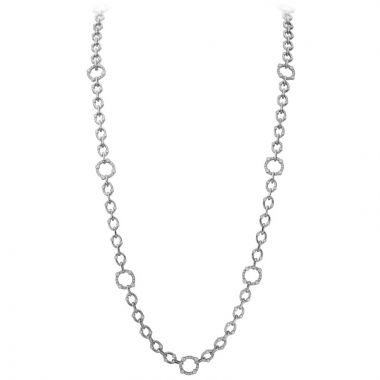 Gumuchian 18k Gold Carousel Diamond Necklace