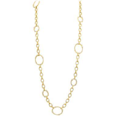 Gumuchian Carousel Convertible 18k Yellow Gold Diamond Necklace