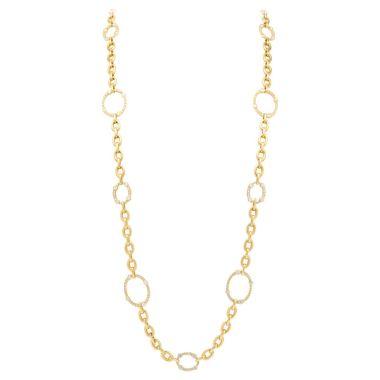Gumuchian Carousel Convertible 18k Gold Diamond Necklace