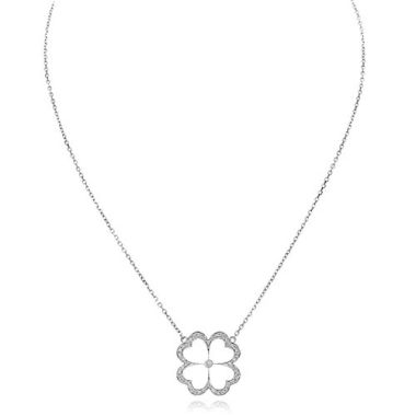 Gumuchian G. Boutique 18k White Gold Diamond Kelly Necklace
