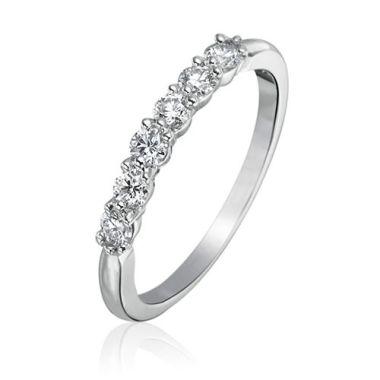 Gumuchian Bridal Platinum Diamond Wedding Band