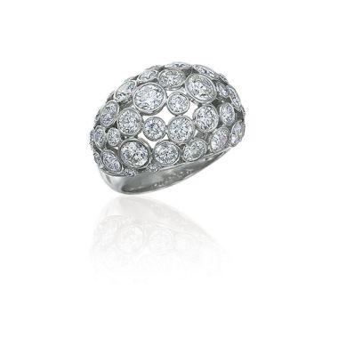 Gumuchian Cloud Nine Platinum Diamond Ring