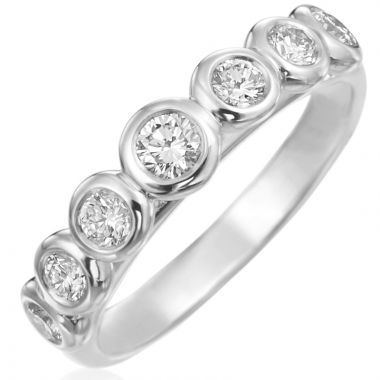 Gumuchian Moonlight Seven Stone Ring