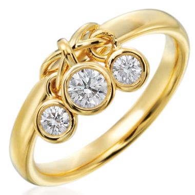 Gumuchian Moonlight 18k Gold Dancing Diamond Ring