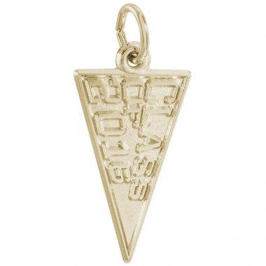 14k Gold Class of 2016 Charm